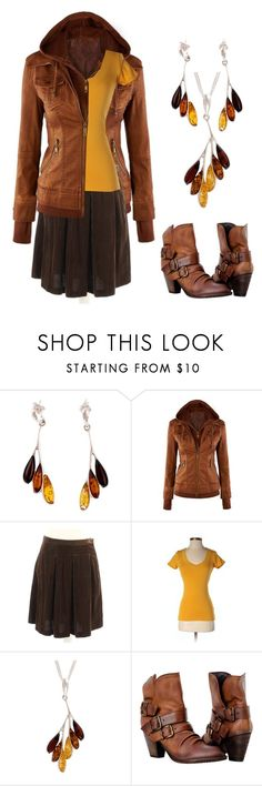 """""""Amber"""" by tegan-b-riley on Polyvore featuring Be-Jewelled, WithChic, Joseph and Ambiance Apparel"""