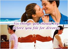 Six things you should try before you file for divorce