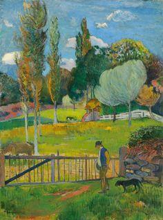 Paul Gauguin, Paysage, 1894