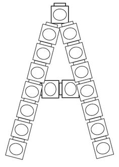 Add these alphabet cards to the block center to make
