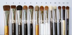 The Beauty Look Book: A Week of Beauty Tools & Essentials: Eye Brushes