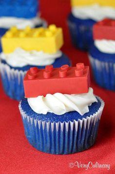Love the blue cupcake