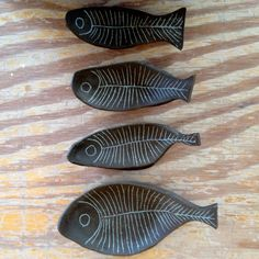 Paula Greif ceramic fishes