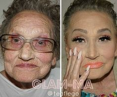 When 80-year-old Livia asked her granddaughter for a makeup, she didn't expect to become an overnight internet sensation, but that's exactly what happened! Croatian makeup artistTea Flegois showing the whole world how a clever use of makeup can get rid of at least 20 years of age. And what was supposed to be a showcase of the artist's incredible contouring skills have also turned out to be a heartwarming proof of granddaughter and grandmother special bond. Now known across the internet as…