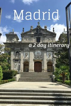 What to do and what to see in Madrid in two days only? A weekend is not enough to see all that Madrid has to offer: there is just too much art and too much going on in the city, but it is still possible to get an idea of what Madrid has to offer with a well planned itinerary. This is mine. Madrid in two days