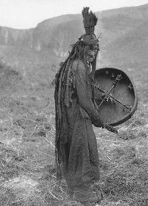 vintage mongolian shaman