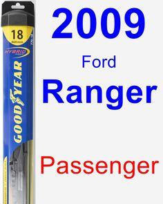Passenger Wiper Blade for 2009 Ford Ranger - Hybrid