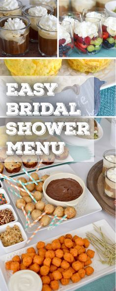 Everything you need to plan the perfect bridal shower on a budget!
