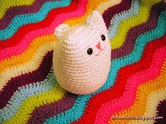 Ravelry: Gato Mishto pattern by María Cora Chiaraviglio Baby Time, Learn To Crochet, Crochet Flowers, Crochet Baby, Lana, Ravelry, 3 D, Applique, Blanket
