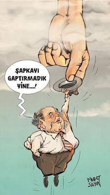 Siyasi Karikatürler: Süleyman Demirel - Murat Sayın