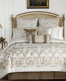 Croscill Bedding, Ivory Bedding, Bedroom Comforter Sets, King Size Comforter Sets, Grey Comforter, Family Room Walls, Online Bedding Stores, Bedding Collections, Comforters