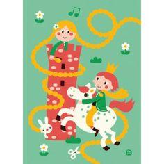 Poster Rapunzel by Bora
