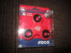 St. Louis Baseball Officially Licensed Foco Diztracto 3 way Fidget Spinner #ForeverCollectibles