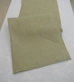 Delightful Sage Green Burlap Table Runner, Choose Your Size, Custom Sizes Available,  Wedding, Shower, Party, Home Decor