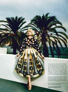 Dolce&Gabbana Spring Summer 2014, Madame Germany February 2014 -