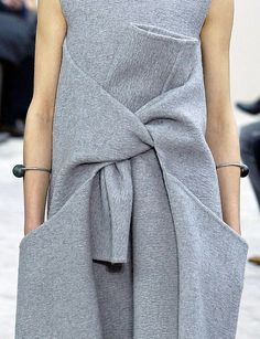 Love this by Celine (think you would have to be as skinny as the model to pull it off)