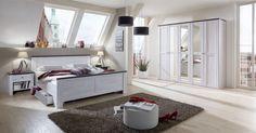 Chateau - 980121 (dub bílý/lava černá) Lava, Bunk Beds, Toddler Bed, Entryway, Bench, Bedroom, Storage, Furniture, Home Decor
