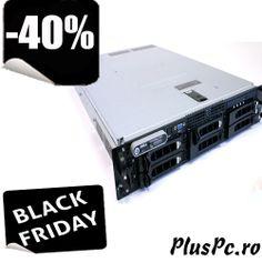 Server Dell Poweredge 2950, 1 x Dual Core 5160, 3000 mhz 4 mb cache, 1333 fsb, 4 gb ram, 1 x 73 sas, rackabil 2u, 1x sursa http://www.pluspc.ro/servere-dell-2950-dual-core-3000-mhz-p-4316.html