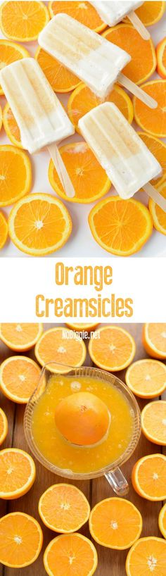 Orange creamsicles |