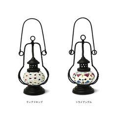 テーブルランプ1灯ランタンモザイクランプ【テーブルライト照明器具照明間接照明ライトおしゃれレトロアンティーク北欧アジアンガラス】