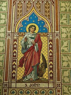 Newry- Hill Street- Cathedral of St. Patrick and St. Colman (THOMAS DUFF) c.1829- interior- mosaics c.1904- DSCF7986 | Flickr - Photo Sharin...