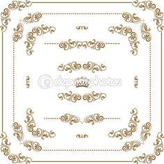 Quadro decorativo — Vetor de Stock © juli_goncharova #20638773