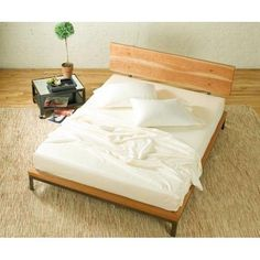 Cherry Platform  Bed by Charles P. Rogers on HomePortfolio