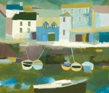 Richard Tuff - Boats by the Quay
