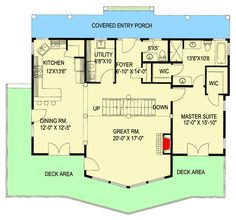 Great Views - 35108GH | Architectural Designs - House Plans