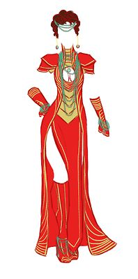 What I Wouldn't Give For These Marvel-Inspired Evening Gowns To Be Real | Page 2 | The Mary Sue - Ironman