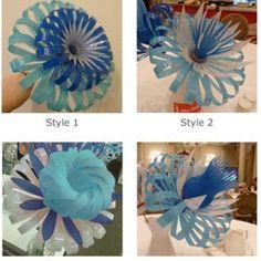 Creative DIY Pretty Q Tips Flower Blooms