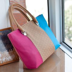 9ee211deba5 New Arrival Concise Contrast Color Rainbow Design Lady s Handle Shoulder Bag