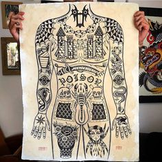 Search inspiration for an Old School tattoo. Traditional Tattoo Torso, Traditional Tattoo Painting, Traditional Tattoo Design, Traditional Tattoo Flash, Torso Tattoos, Body Art Tattoos, Old School Tattoo Designs, Chest Piece Tattoos, Full Body Tattoo