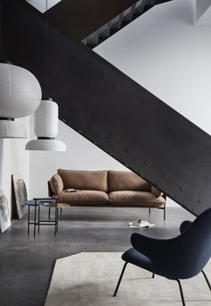 Luca Nichetto's 'Cloud' sofa, Jaime Hayon's 'Catch' lounge chair and Jaime Hayon's 'Formakami' lights | Spring-summer 2017 collection from &tradition | These Four Walls blog
