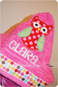 Hey, I found this really awesome Etsy listing at http://www.etsy.com/listing/103851632/owl-hooded-towel-other-colors-available