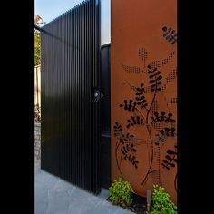 Custom Gate Designs, Corten Gates, Laser Cut Gate Panels