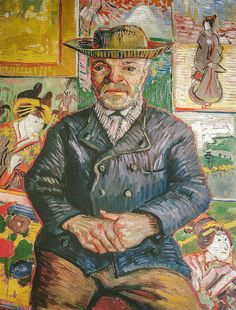 Vincent van Gogh - Pere Tanguy, 1888 at Van Gogh Repetitions Exhibit - Phillips Collection Art Gallery Washington DC | Flickr – Compartilham...