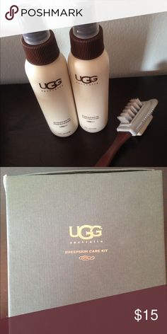 Ugg cleaning kit Brush, sheepskin freshener and protector UGG Shoes
