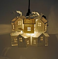 How to make your own paper-house lamps ;-)