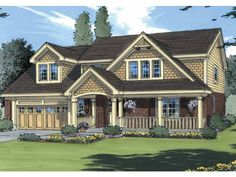 A way to cheat on the look of a Craftsman dormer while having a full second floor?