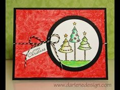 12 Days of Christmas Inspirations, Day 8: Gelatos® and Watercolors! - Faber-Castell Design Memory Craft