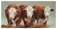 Three of a Kind Giclee Print by Carolyne Hawley at AllPosters.com