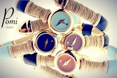 Gold Watches - Pomi Gold Watches, Silver Jewelry, Handmade, Jewerly, Hand Made, Silver Jewellery, Handarbeit