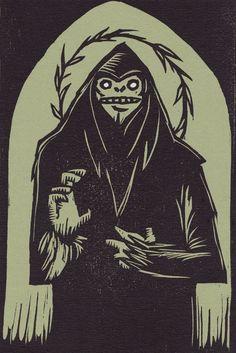 St. Sasquatch print