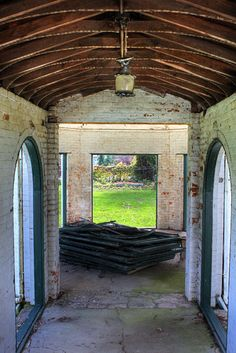 Bellevue House in Amherstburg, Ontario by Amanda Anger, via Flickr. Bellevue House, Local Museums, The Garrison, Georgian Architecture, Historical Sites, Abandoned Places, Ontario, Gazebo, Restoration