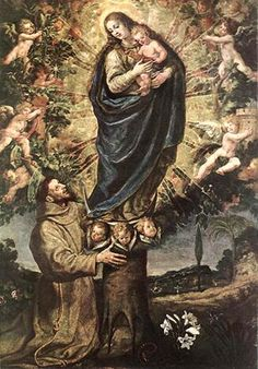 #Franciscans celebrate the #Memorial of St. Paschal Baylon today. St. Paschal Baylon, #pray for us. #MFVAFriars pic.twitter.com/aRQv104uLB
