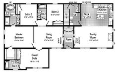 View our numerous modular home floor plans and elevations, like this Hester. Modular Home Floor Plans, House Floor Plans, Home Design Plans, Plan Design, Design Ideas, House Blueprints, Family Room Design, Modular Homes, Next At Home