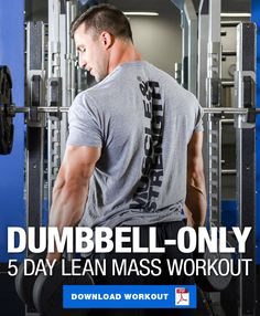 33 Best Dumbbell only workout images in 2019