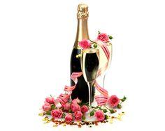 Celebration. Champagne