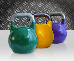 """A kettlebell is one of the most effective tools for getting a bomb body.""  Women's Health  We couldn't agree more!"